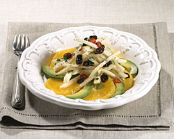 Jicama avocado and orange salad