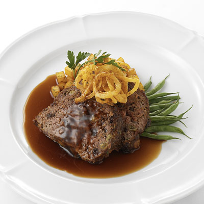 New Orleans-style Meat Loaf with California Raisins