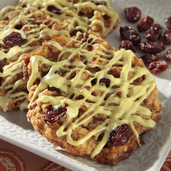 Coconut Curry Cookie with California Raisins