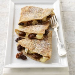 Brie Dessert Quesadillas