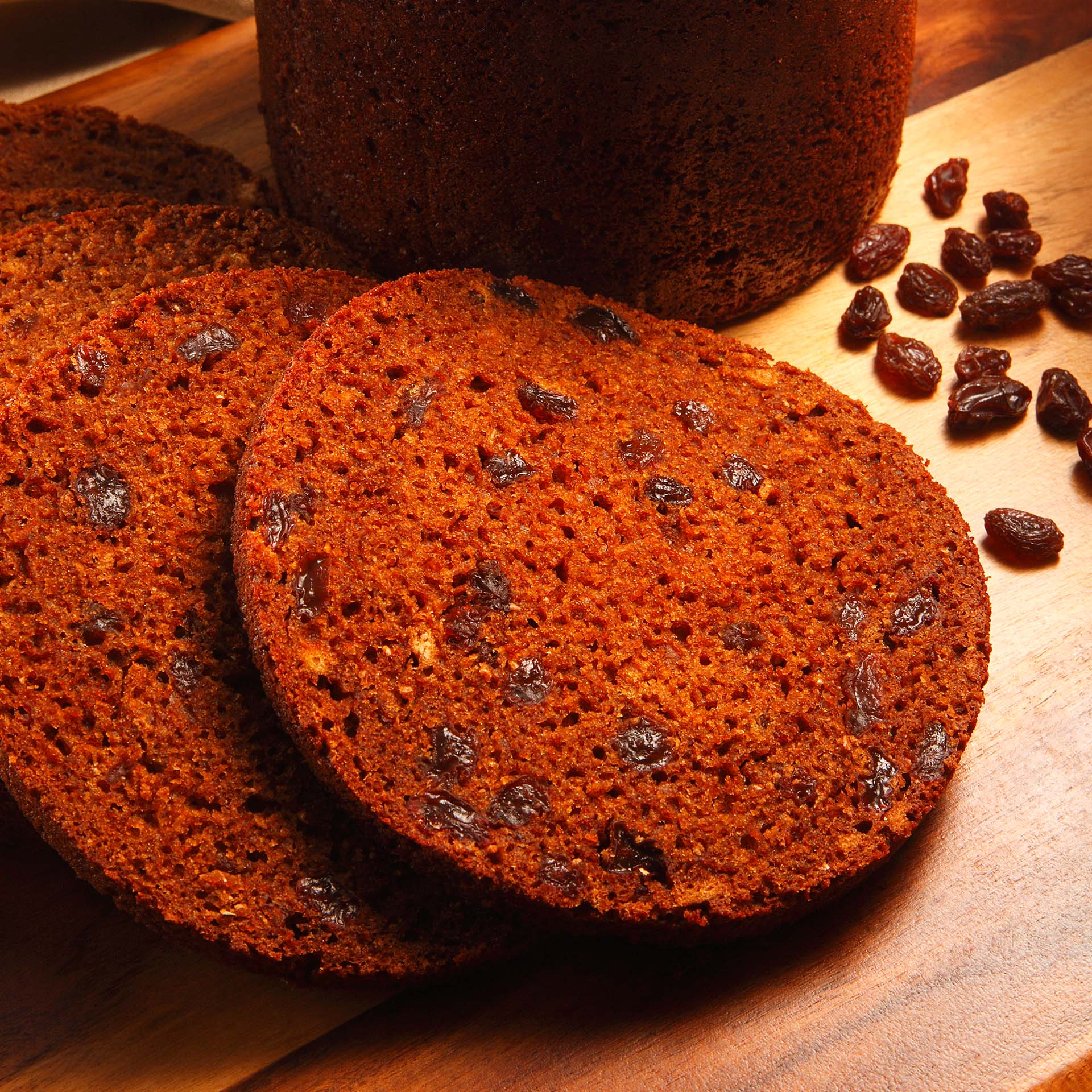 Baked Brown Raisin Bread California Raisins