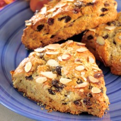 GF Almond Corn Raisin Scone