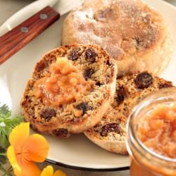 Walnut-Raisin English Muffin
