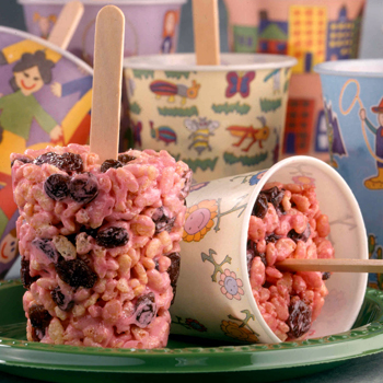 Raisin Cereal Pops