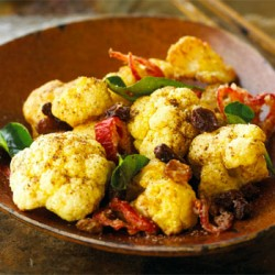Cauliflower with Tribal Salt