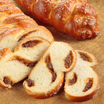 Raisin Stuffed Challah Bread