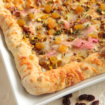 Raisin Squared Pizza Crust