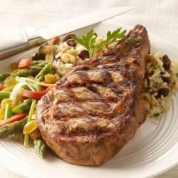 Grilled-Veal-Chop-Raisin-Pilaf-350x350