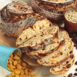 Sultana Sunflower Raisin Bread