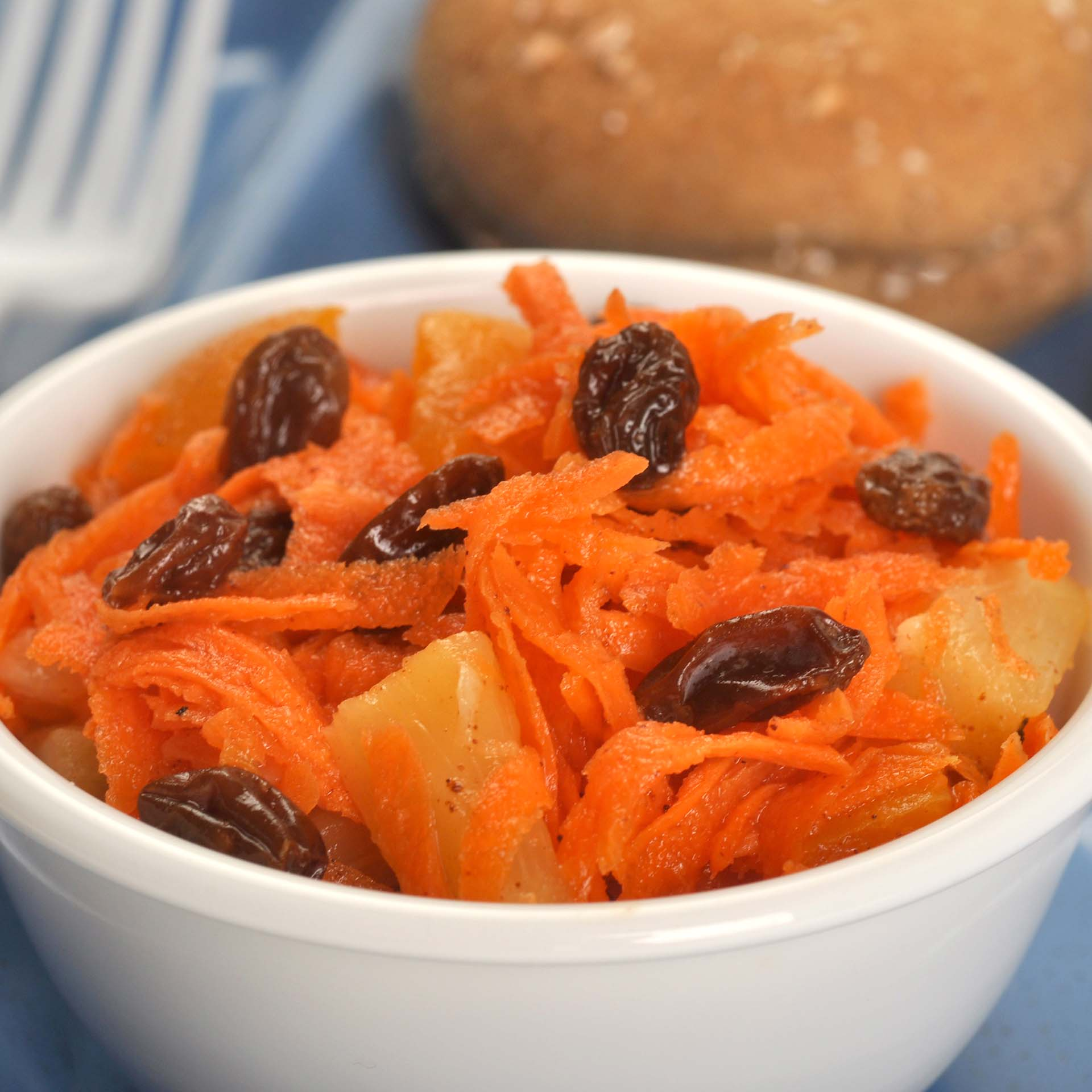 Carrot And California Raisin With Apricot Salad