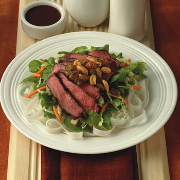 Vietnamese Beef Salad with Raisin Relish » California Raisins - Sweet ...