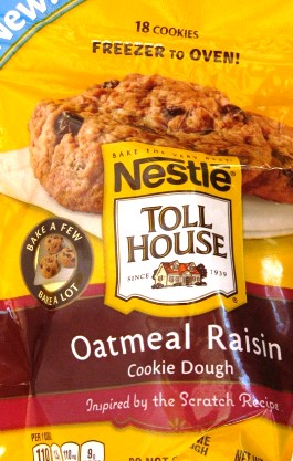 Nestle oatmeal raisin cookie