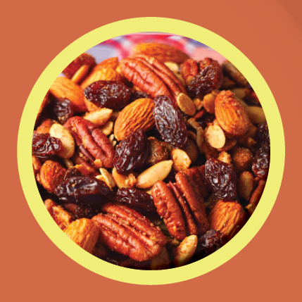 Diabetes smaller snack mix