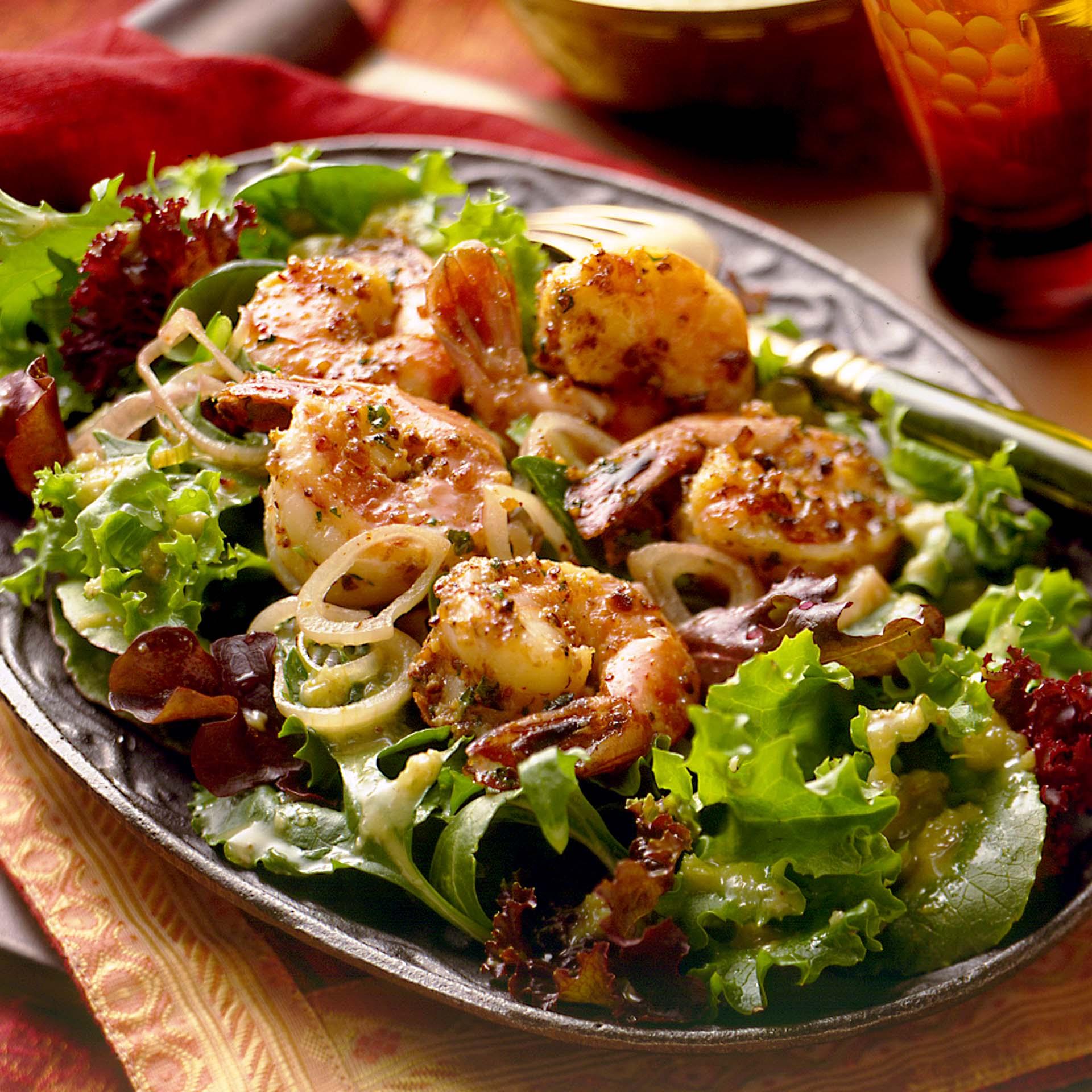 Coconut Shrimp Salad Jingha Salade California Raisins