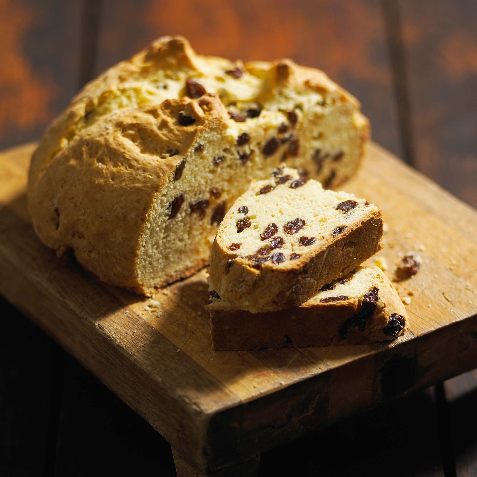 Traditional Irish Soda Bread - California Raisins