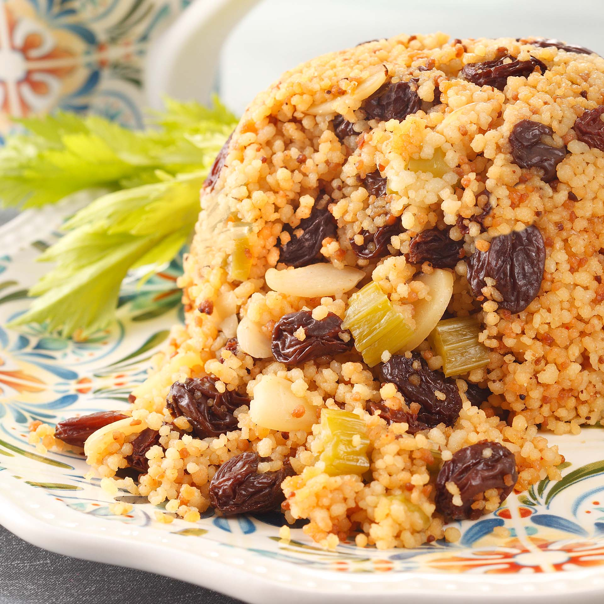 Couscous with raisins recipes for Couscous food recipe