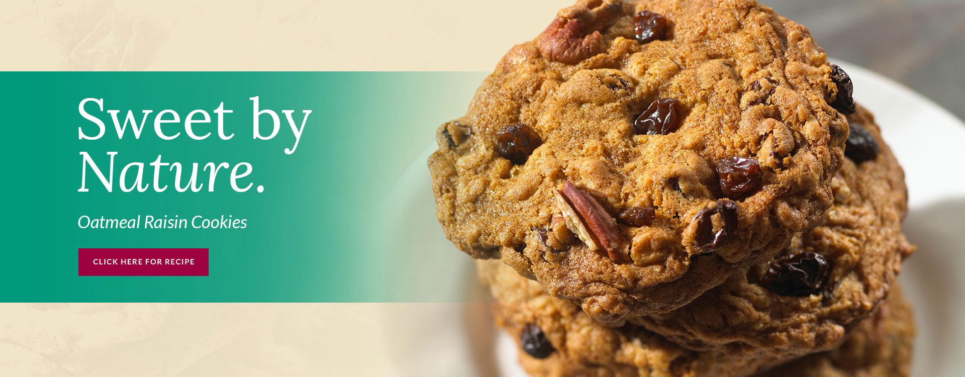 Our Growers Favorite Oatmeal Raisin Cookies